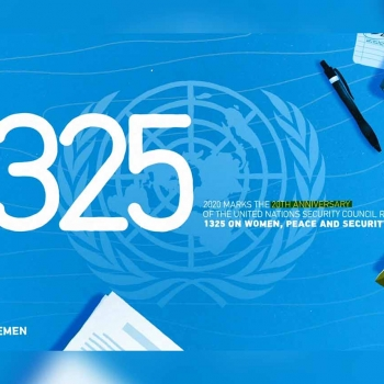 Statement of Women4Yemen Network for the 20th anniversary of UNRSC1325